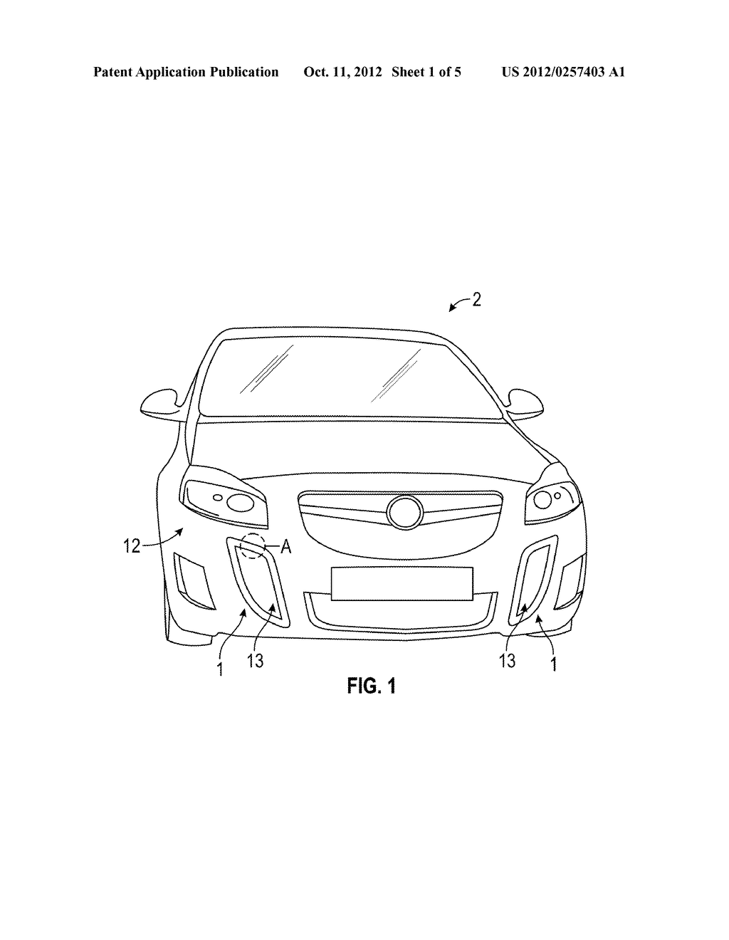 ILLUMINATION DEVICE FOR A MOTOR VEHICLE AND MOTOR VEHICLE - diagram, schematic, and image 02