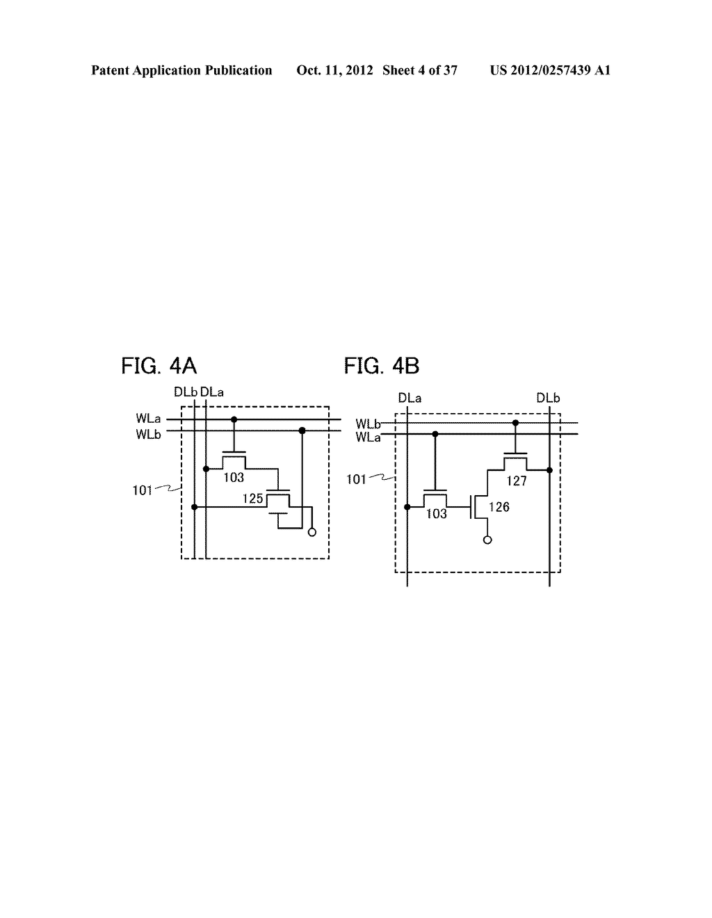 MEMORY DEVICE AND SEMICONDUCTOR DEVICE USING THE SAME - diagram, schematic, and image 05