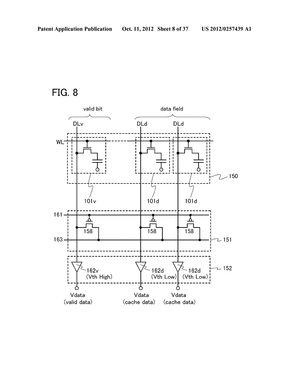 MEMORY DEVICE AND SEMICONDUCTOR DEVICE USING THE SAME - diagram, schematic, and image 09