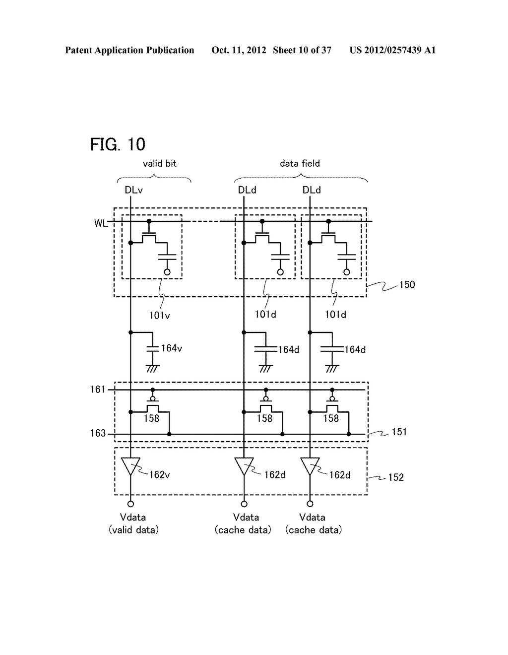 MEMORY DEVICE AND SEMICONDUCTOR DEVICE USING THE SAME - diagram, schematic, and image 11