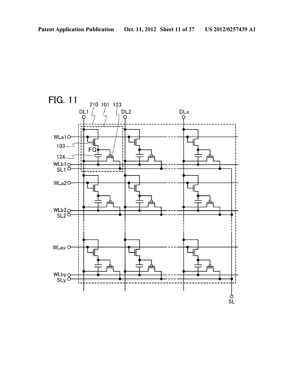 MEMORY DEVICE AND SEMICONDUCTOR DEVICE USING THE SAME - diagram, schematic, and image 12