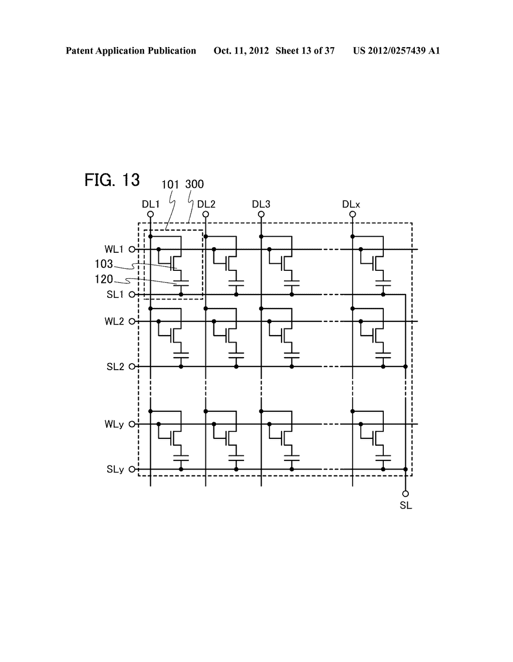 MEMORY DEVICE AND SEMICONDUCTOR DEVICE USING THE SAME - diagram, schematic, and image 14