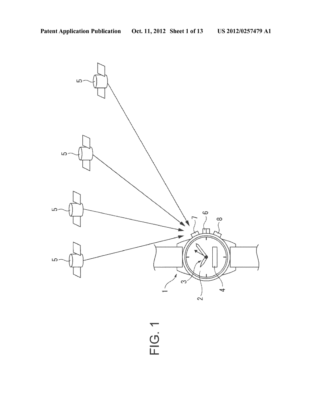 Electronic Timepiece and Control Method for an Electronic Timepiece - diagram, schematic, and image 02