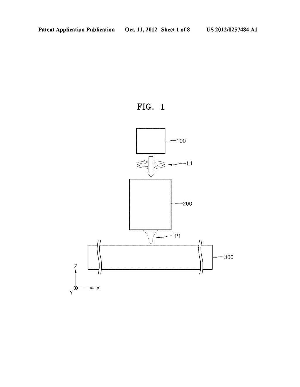 OPTICAL ELEMENTS AND INFORMATION STORAGE DEVICES INCLUDING THE SAME - diagram, schematic, and image 02