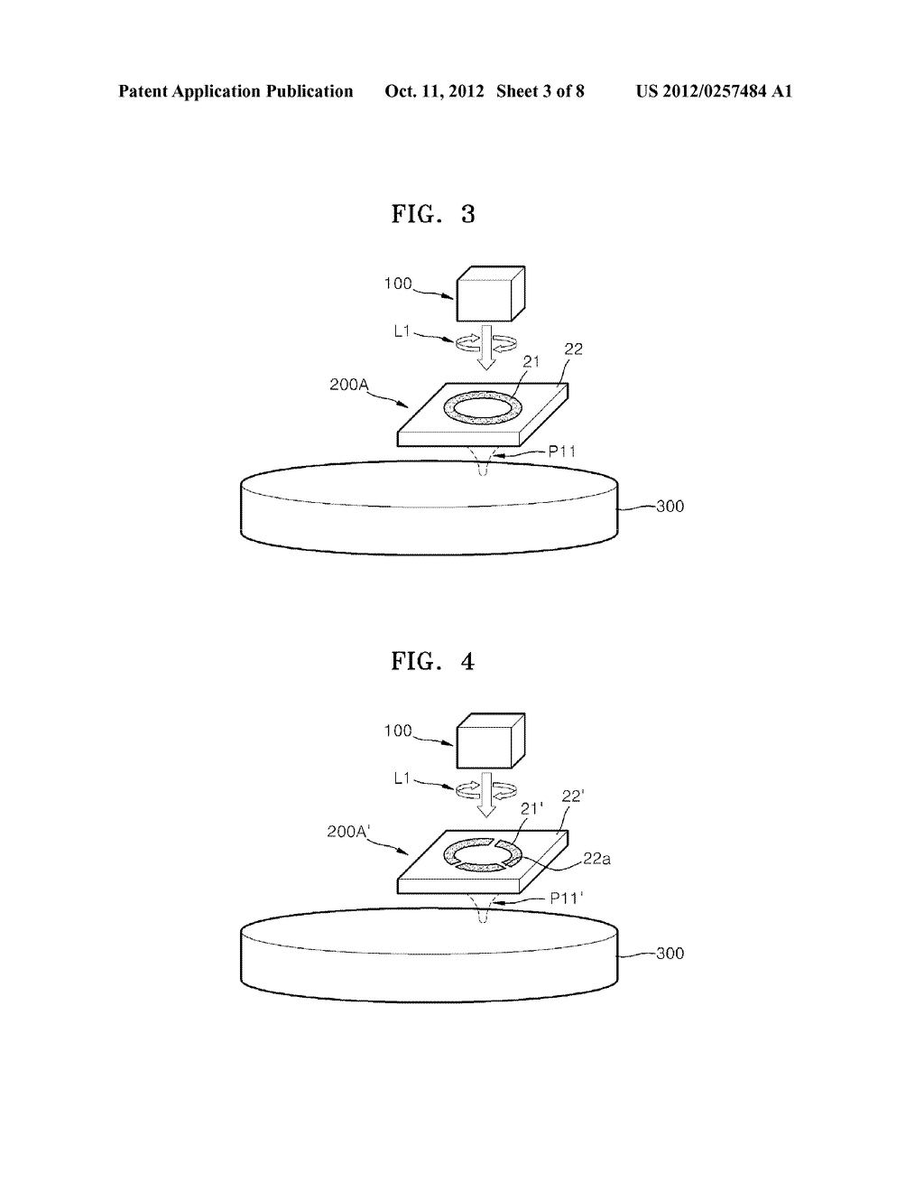 OPTICAL ELEMENTS AND INFORMATION STORAGE DEVICES INCLUDING THE SAME - diagram, schematic, and image 04