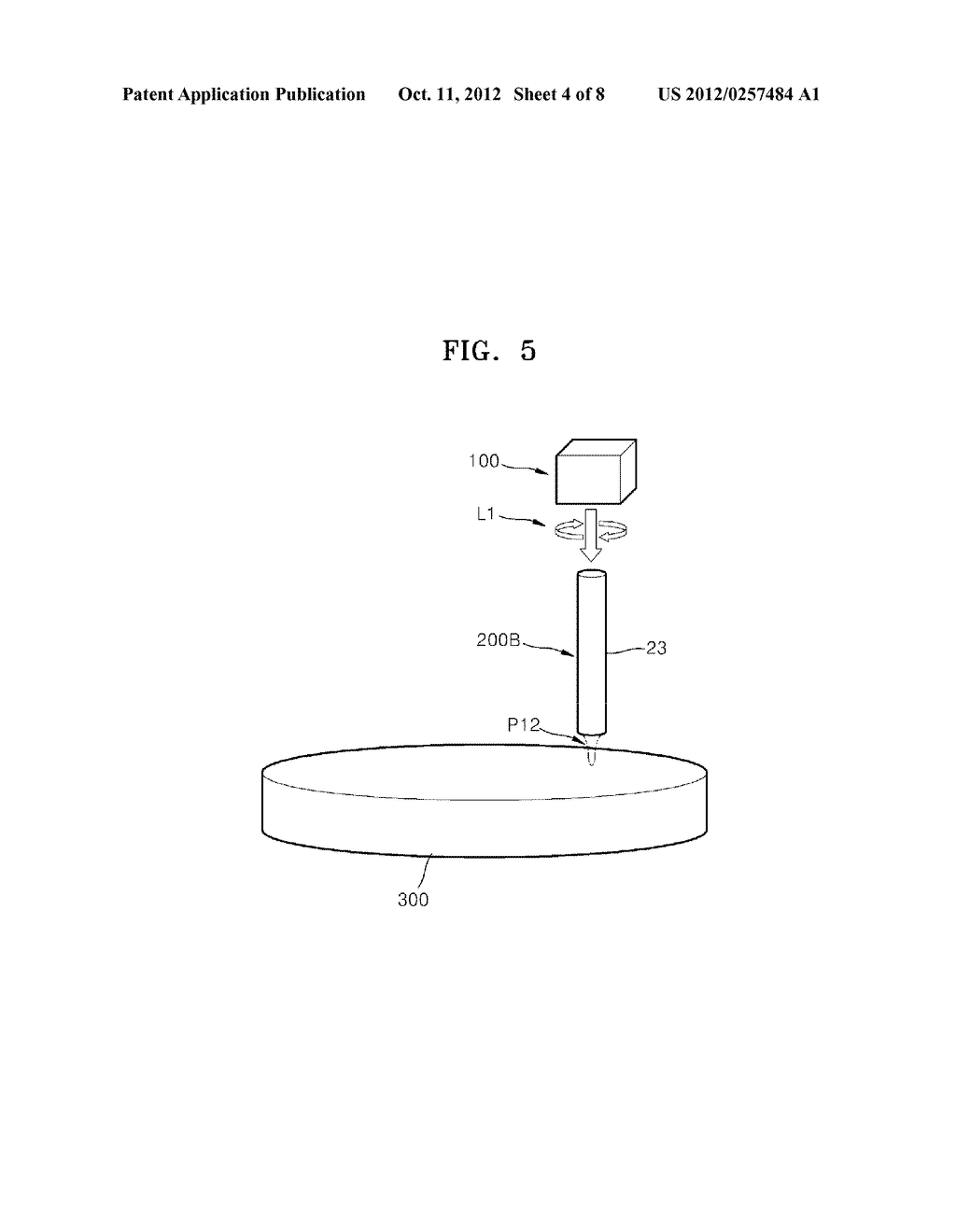 OPTICAL ELEMENTS AND INFORMATION STORAGE DEVICES INCLUDING THE SAME - diagram, schematic, and image 05