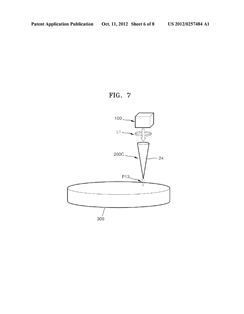 OPTICAL ELEMENTS AND INFORMATION STORAGE DEVICES INCLUDING THE SAME - diagram, schematic, and image 07