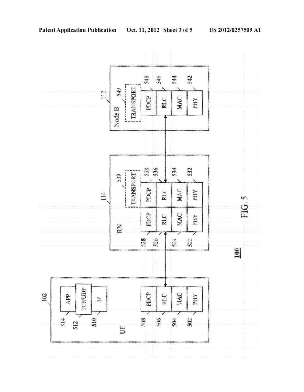 METHOD AND APPARATUS FOR COMMUNICATING DELIVER OF DATA PACKETS TO A USER     EQUIPMENT IN A WIRELESS COMMUNICATION SYSTEM - diagram, schematic, and image 04