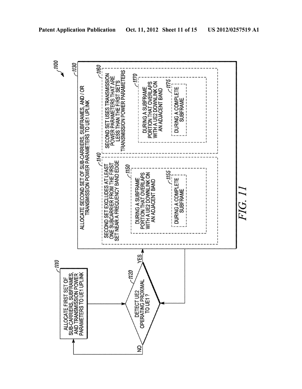 Method and Apparatus for Multi-Radio Coexistence on Adjacent Frequency     Bands - diagram, schematic, and image 12