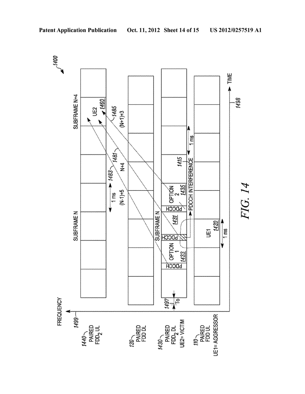 Method and Apparatus for Multi-Radio Coexistence on Adjacent Frequency     Bands - diagram, schematic, and image 15