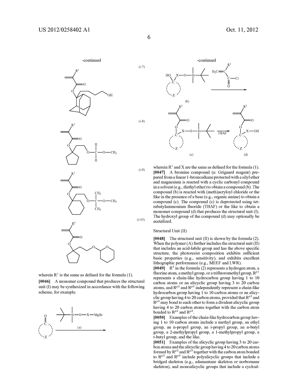 PHOTORESIST COMPOSITION, RESIST-PATTERN FORMING METHOD, POLYMER, AND     COMPOUND - diagram, schematic, and image 07