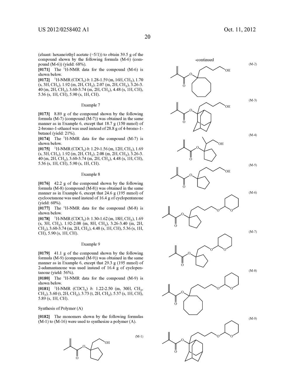 PHOTORESIST COMPOSITION, RESIST-PATTERN FORMING METHOD, POLYMER, AND     COMPOUND - diagram, schematic, and image 21