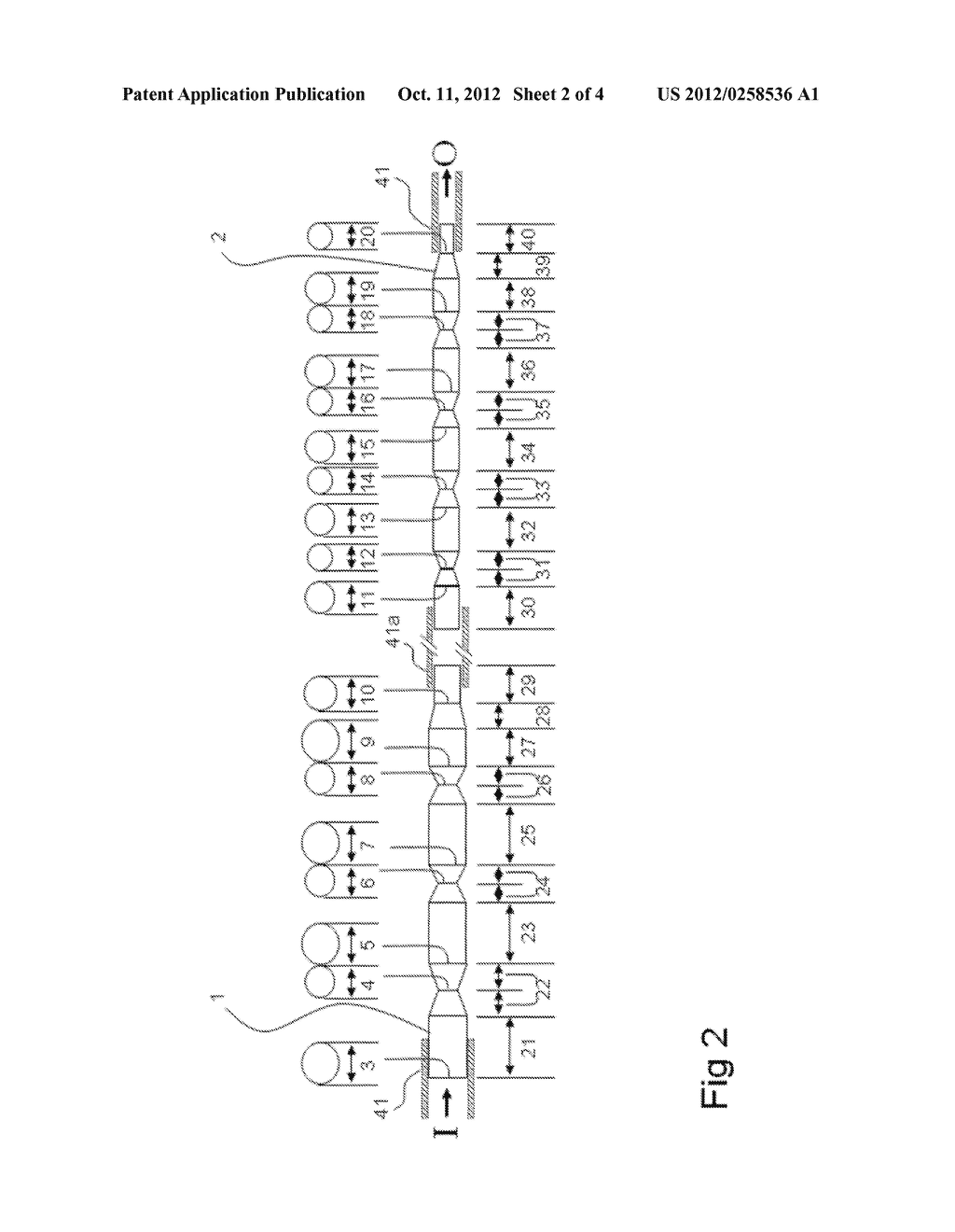 METHOD AND DEVICE FOR DISPERSION OF ASSEMBLIES OF BIOLOGICAL MATERIAL - diagram, schematic, and image 03