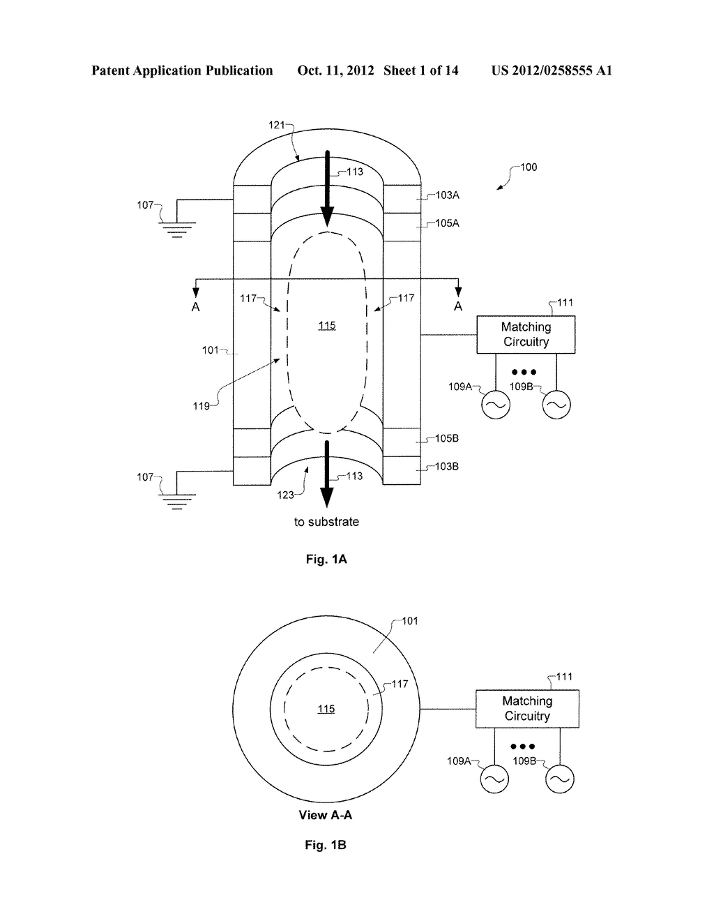 Multi-Frequency Hollow Cathode and Systems Implementing the Same - diagram, schematic, and image 02