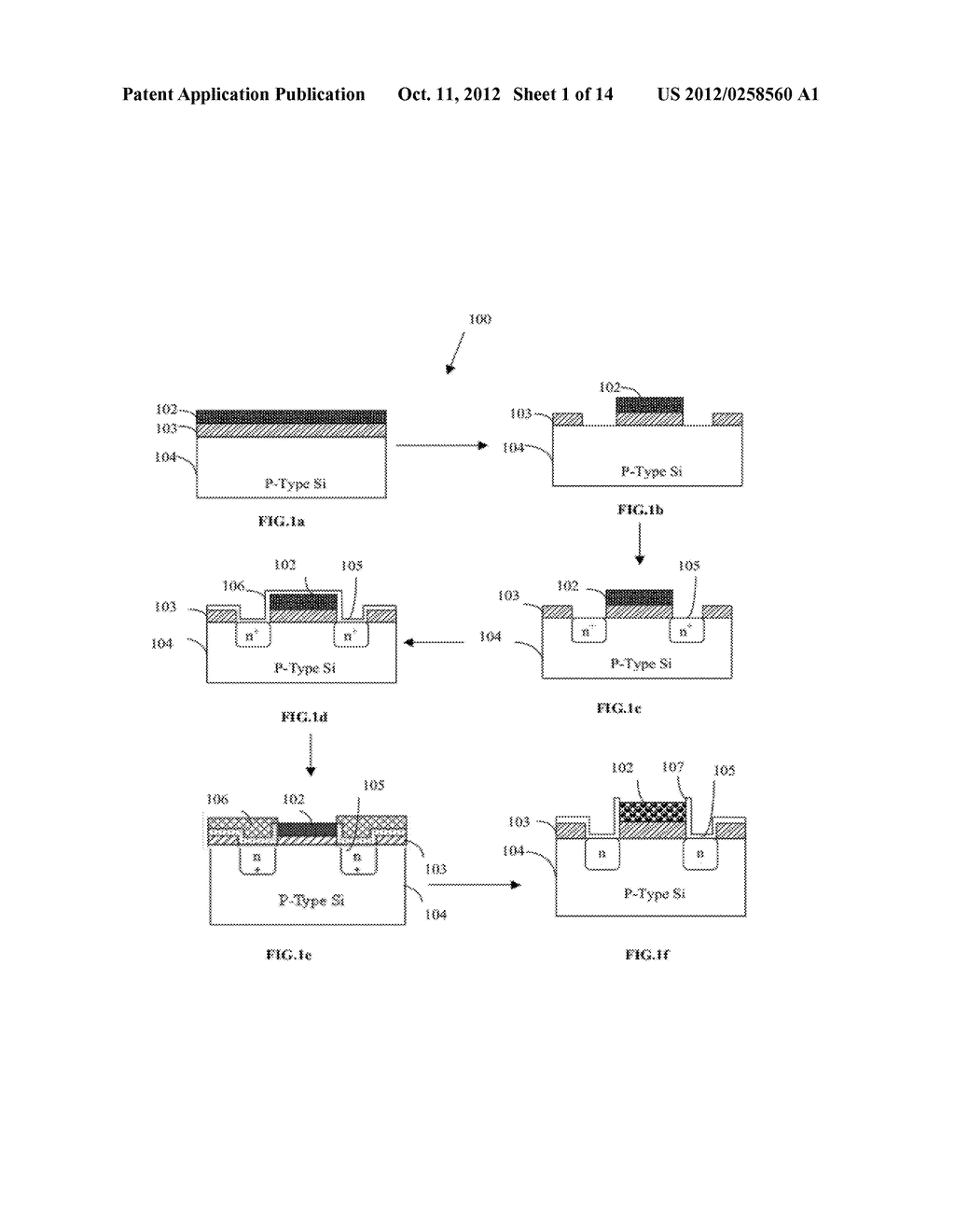 METHOD AND SYSTEM FOR FABRICATING ION-SELECTIVE FIELD-EFFECT TRANSISTOR     (ISFET) - diagram, schematic, and image 02