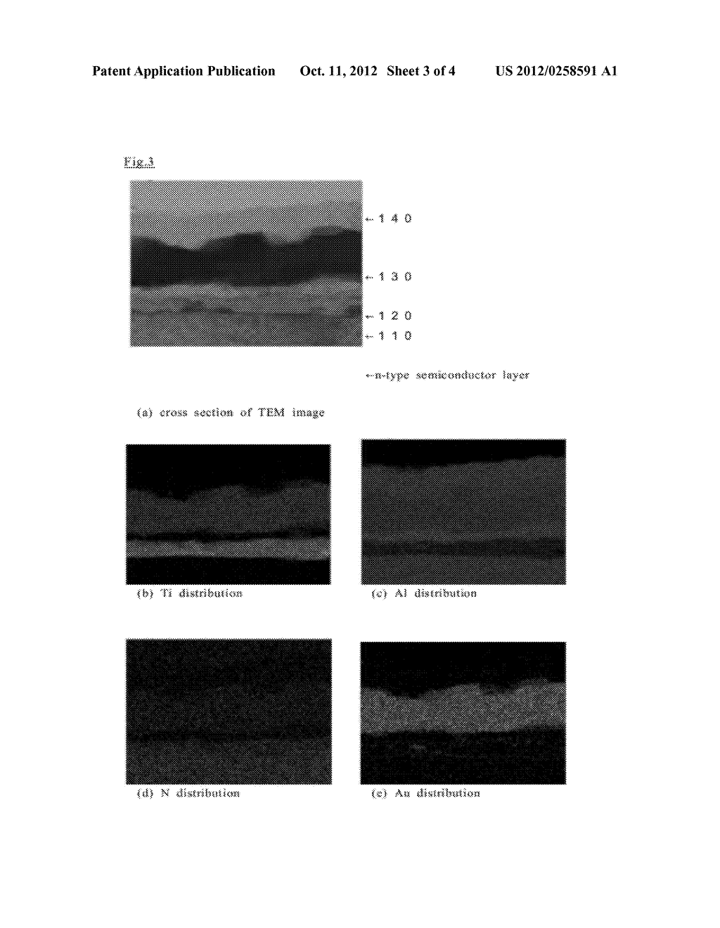 N-Type Contact Electrode Comprising a Group III Nitride Semiconductor, and     Method Forming Same - diagram, schematic, and image 04