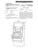 GAMING MACHINE AND BUTTON COVER ASSEMBLY FOR USE WITH GAMING MACHINES diagram and image
