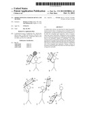 SPORTS SWINGING EXERCISE DEVICE AND METHOD diagram and image