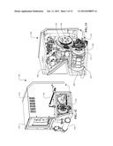 AUXILIARY POWER UNIT HAVING A CONTINUOUSLY VARIABLE TRANSMISSION diagram and image