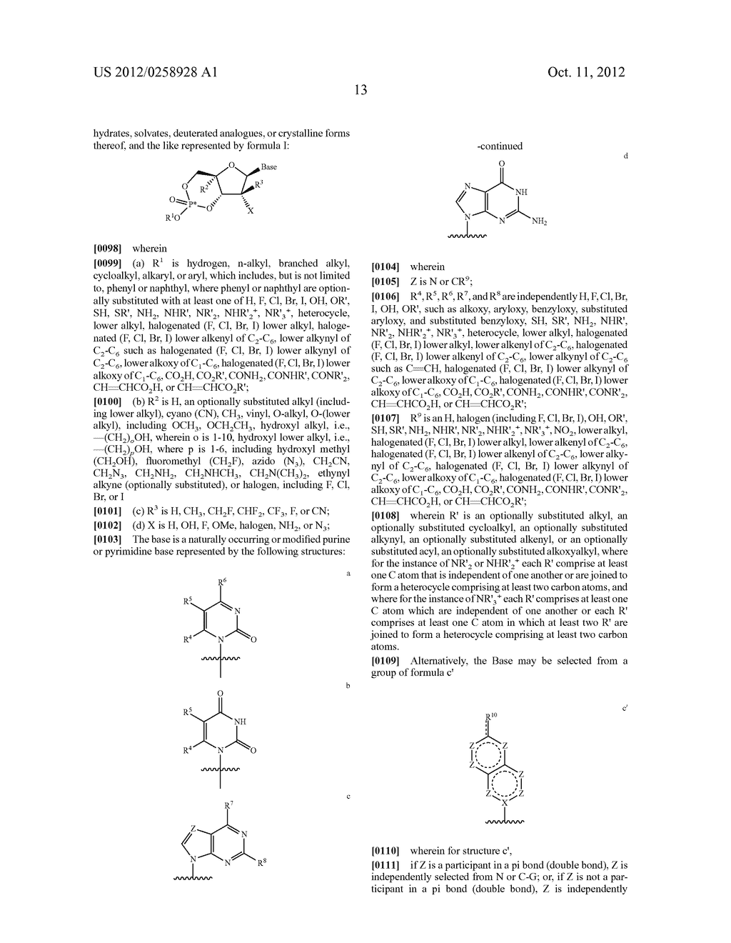 NUCLEOSIDE CYCLICPHOSPHATES - diagram, schematic, and image 14