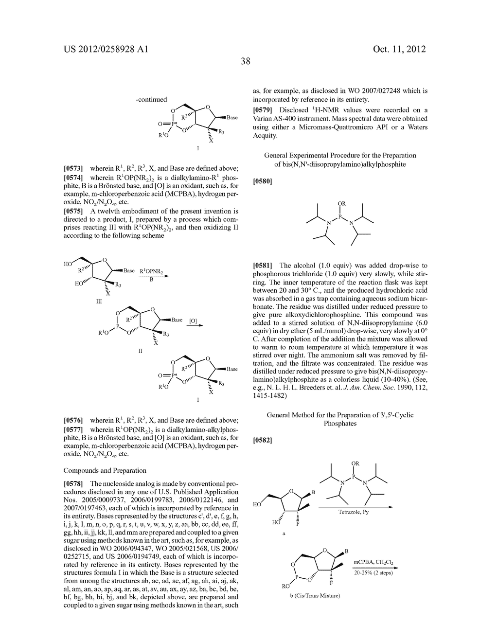 NUCLEOSIDE CYCLICPHOSPHATES - diagram, schematic, and image 39