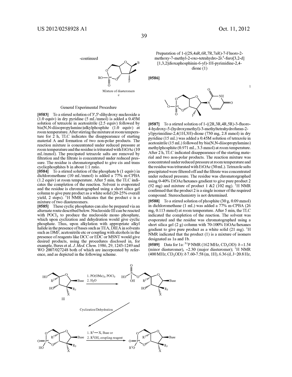 NUCLEOSIDE CYCLICPHOSPHATES - diagram, schematic, and image 40