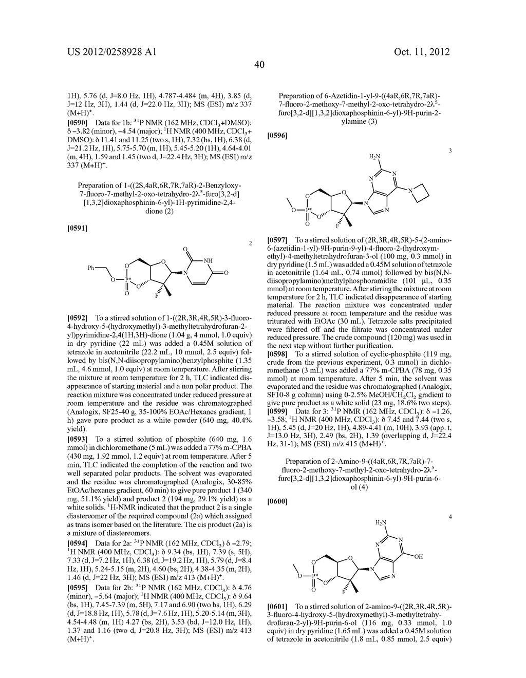 NUCLEOSIDE CYCLICPHOSPHATES - diagram, schematic, and image 41