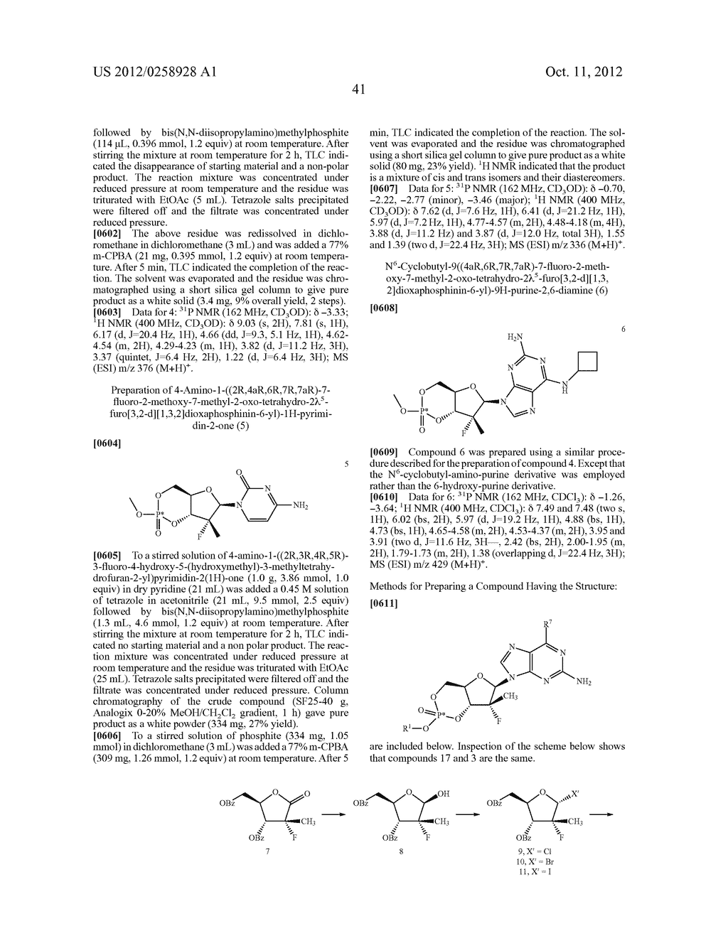 NUCLEOSIDE CYCLICPHOSPHATES - diagram, schematic, and image 42