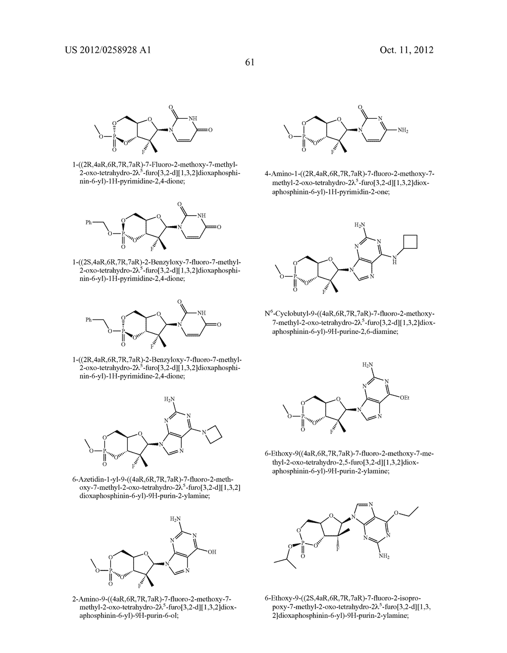 NUCLEOSIDE CYCLICPHOSPHATES - diagram, schematic, and image 62