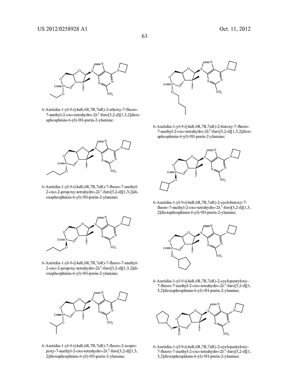 NUCLEOSIDE CYCLICPHOSPHATES - diagram, schematic, and image 64