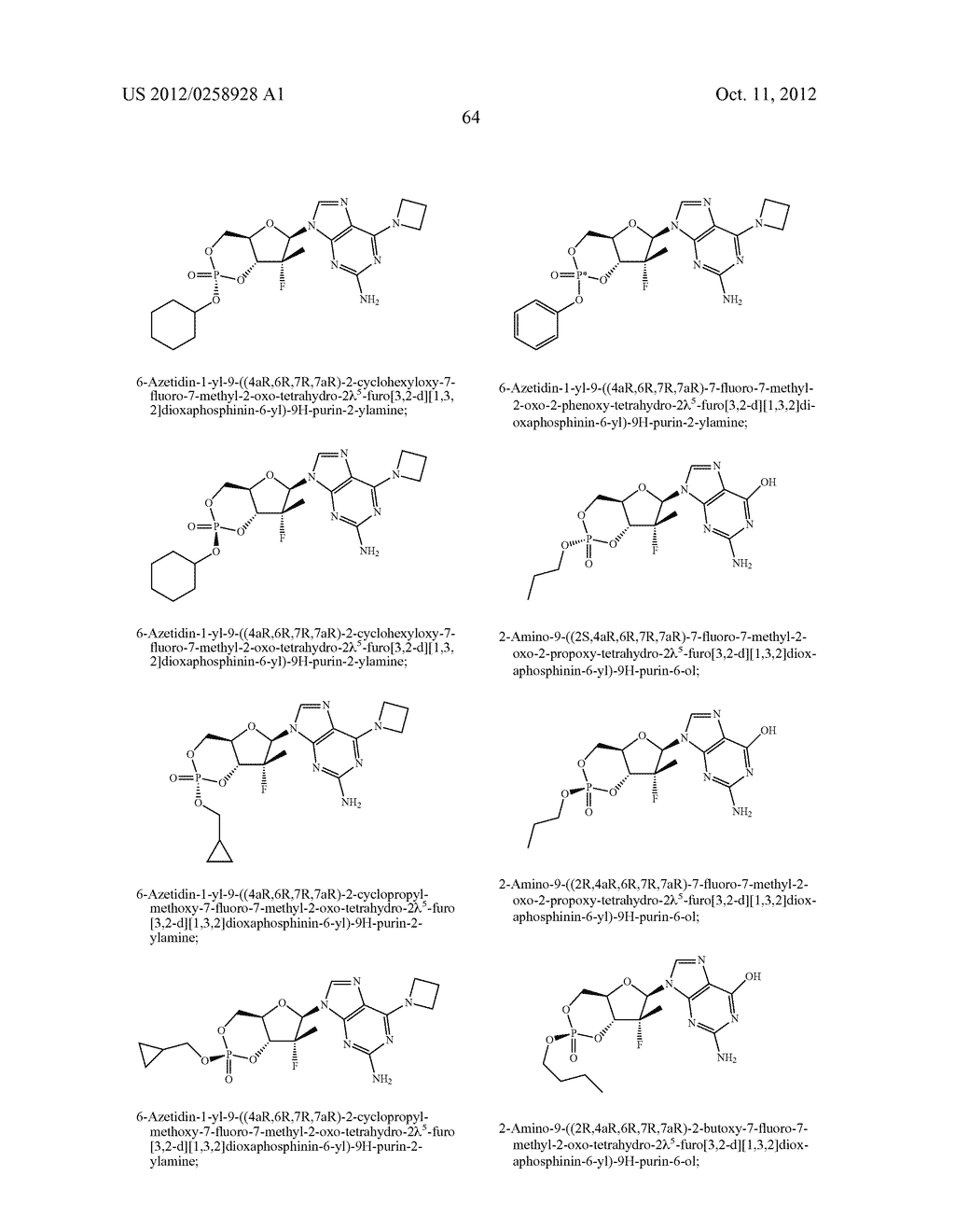 NUCLEOSIDE CYCLICPHOSPHATES - diagram, schematic, and image 65