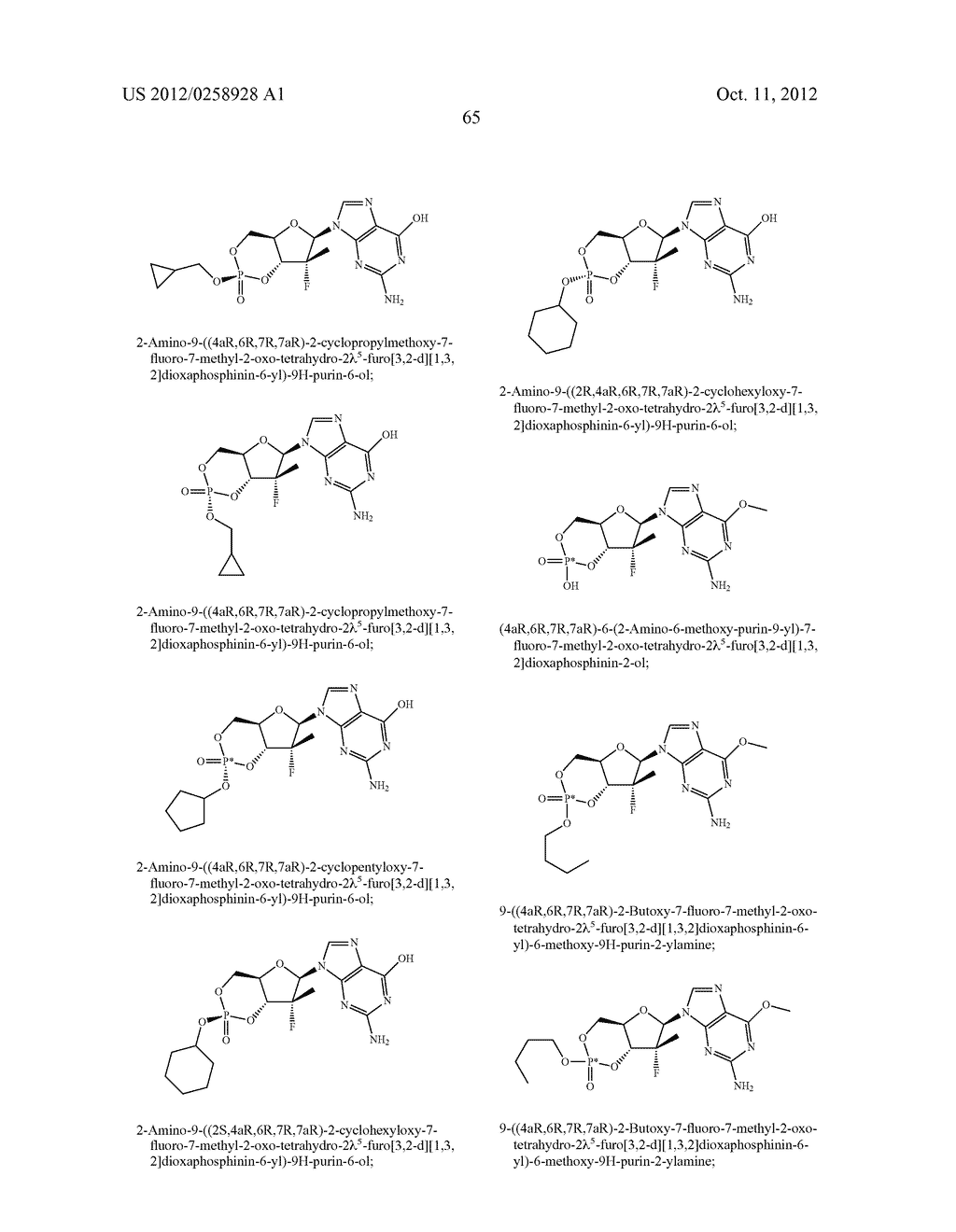 NUCLEOSIDE CYCLICPHOSPHATES - diagram, schematic, and image 66