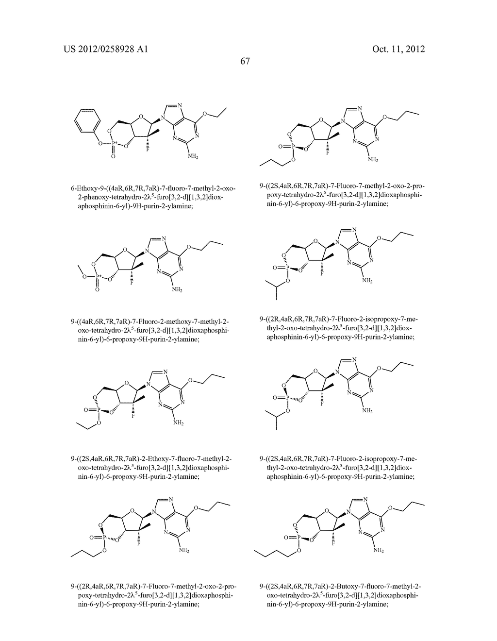 NUCLEOSIDE CYCLICPHOSPHATES - diagram, schematic, and image 68