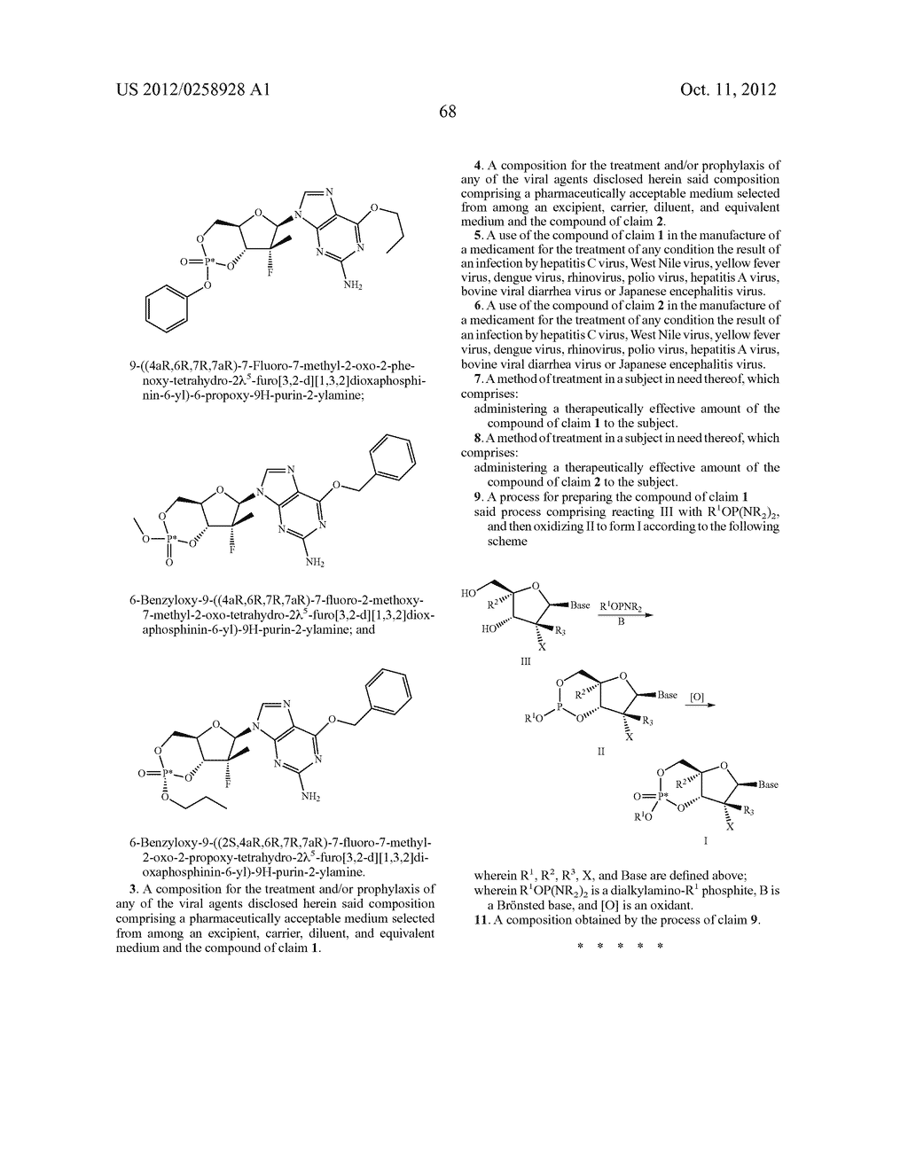 NUCLEOSIDE CYCLICPHOSPHATES - diagram, schematic, and image 69