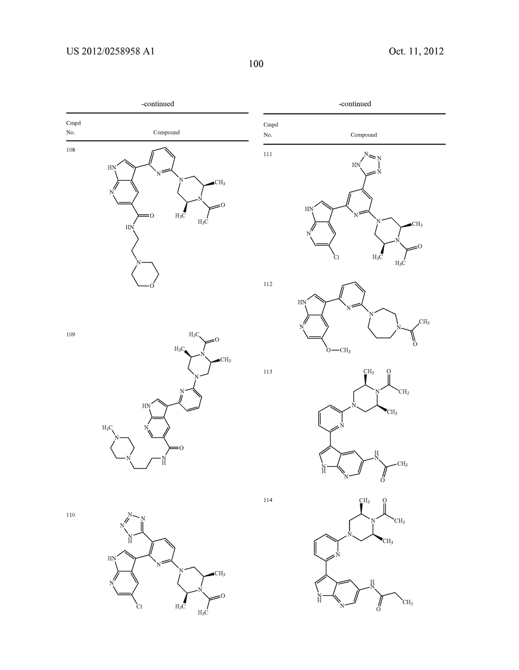 AZAINDOLES USEFUL AS INHIBITORS OF JAK AND OTHER PROTEIN KINASES - diagram, schematic, and image 101