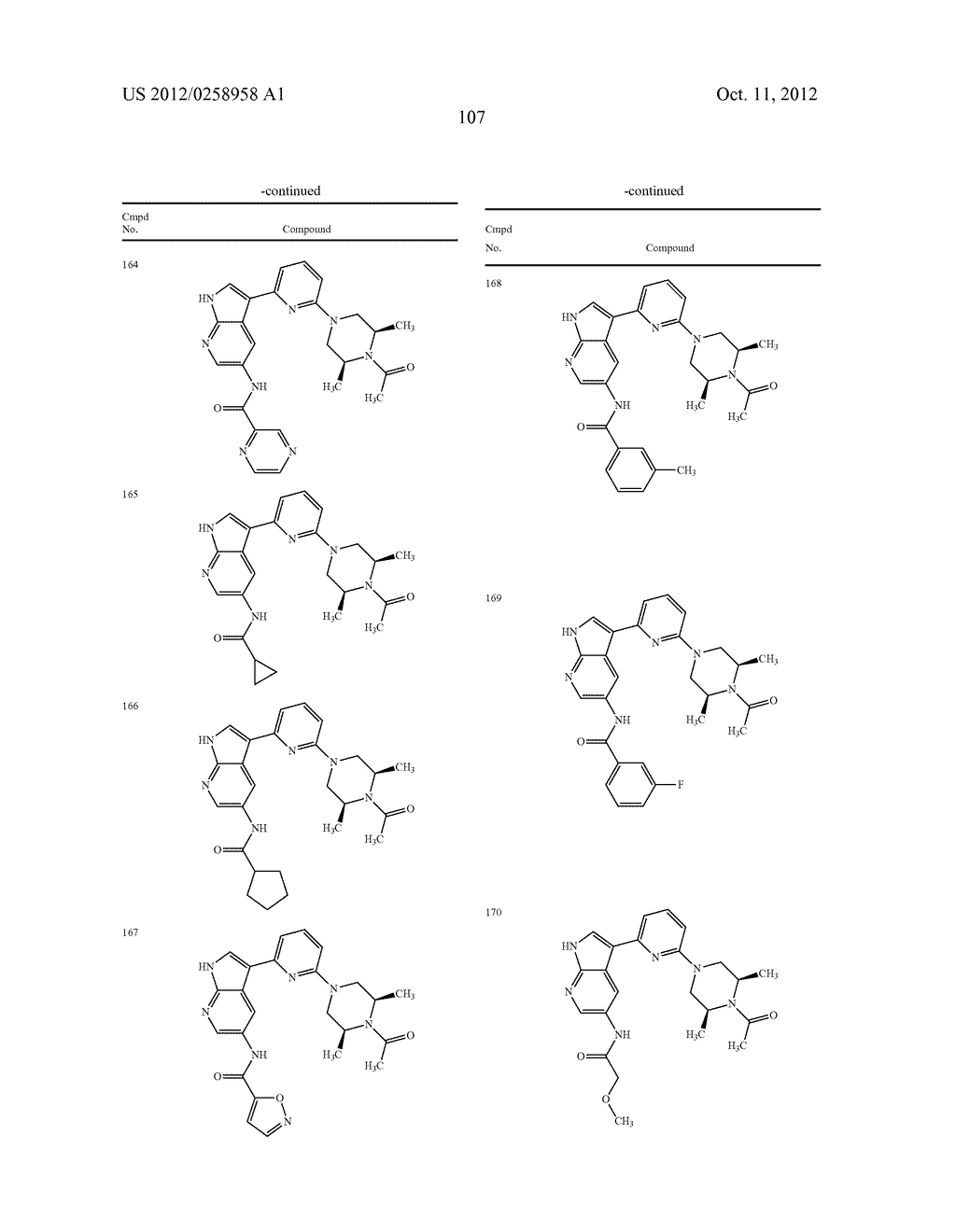 AZAINDOLES USEFUL AS INHIBITORS OF JAK AND OTHER PROTEIN KINASES - diagram, schematic, and image 108