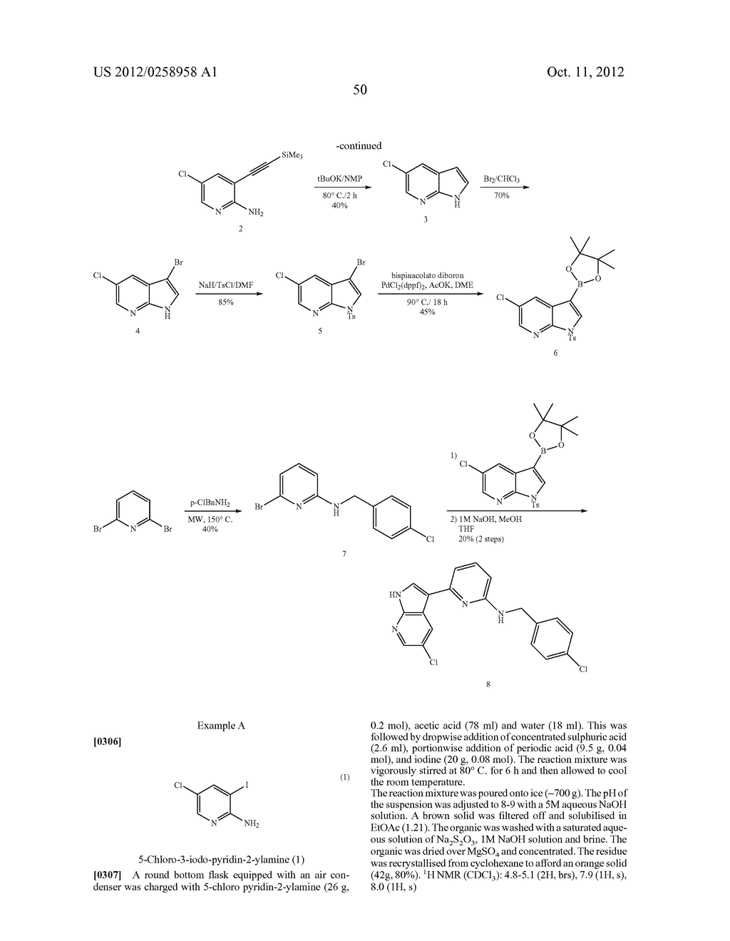 AZAINDOLES USEFUL AS INHIBITORS OF JAK AND OTHER PROTEIN KINASES - diagram, schematic, and image 51