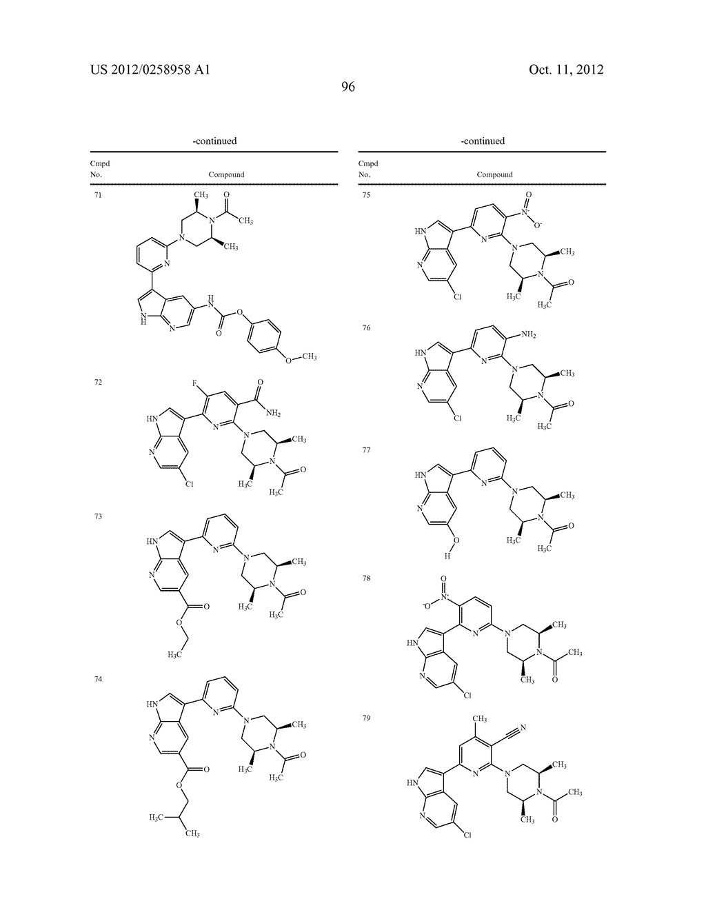 AZAINDOLES USEFUL AS INHIBITORS OF JAK AND OTHER PROTEIN KINASES - diagram, schematic, and image 97