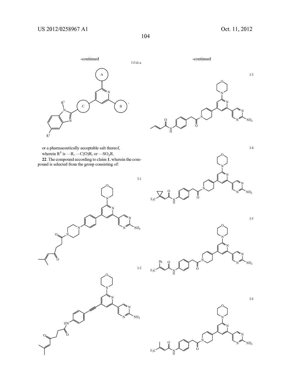 PI3 KINASE INHIBITORS AND USES THEREOF - diagram, schematic, and image 106