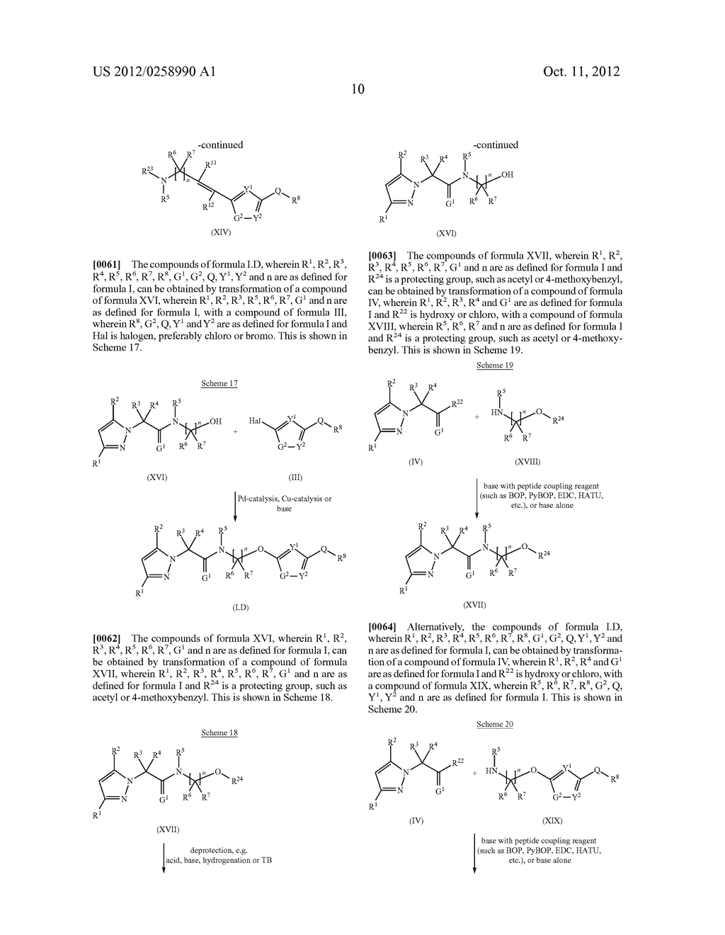 PYRAZOLE DERIVATIVES - diagram, schematic, and image 11