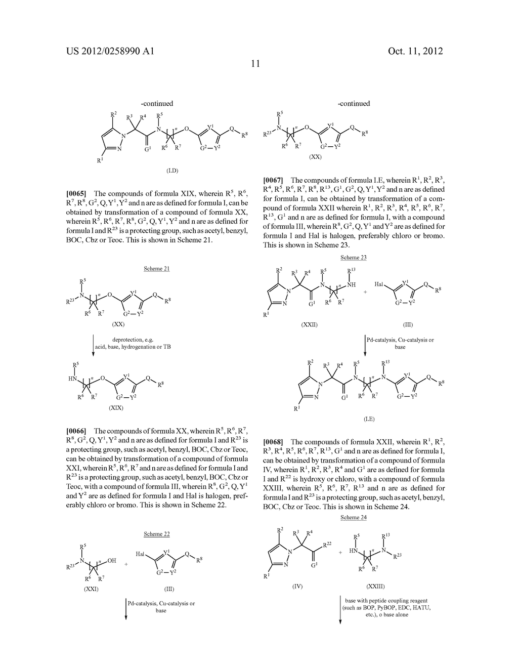 PYRAZOLE DERIVATIVES - diagram, schematic, and image 12