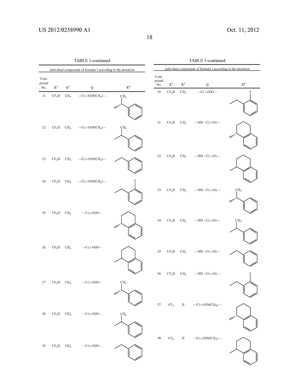 PYRAZOLE DERIVATIVES - diagram, schematic, and image 19