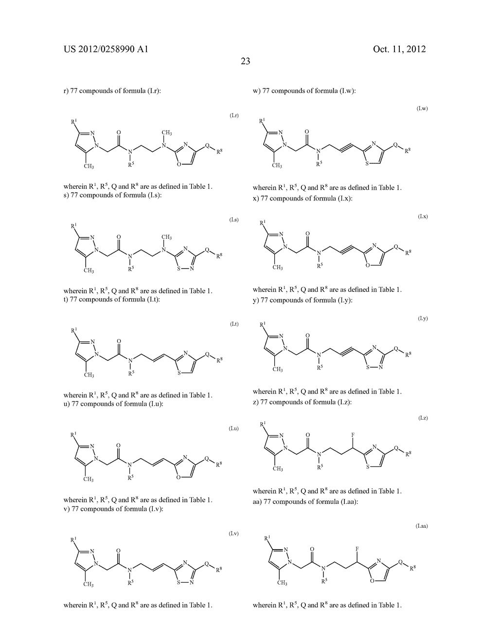 PYRAZOLE DERIVATIVES - diagram, schematic, and image 24