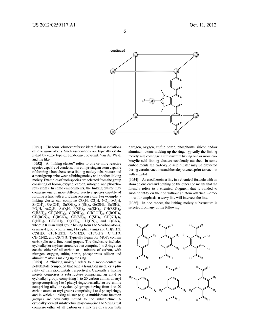 ORGANO-METALLIC FRAMEWORKS AND METHODS OF MAKING SAME - diagram, schematic, and image 25