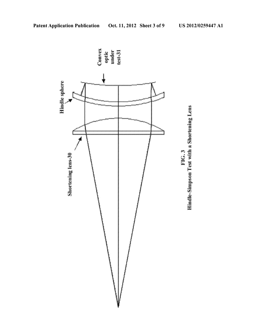 Surface Figure Test Method For Large Convex Optical Surfaces - diagram, schematic, and image 04