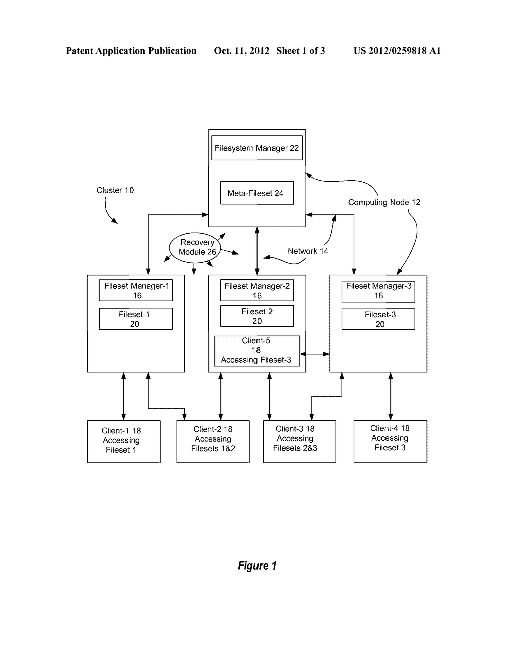 System And Method For Hierarchical Recovery Of A Cluster File System - diagram, schematic, and image 02