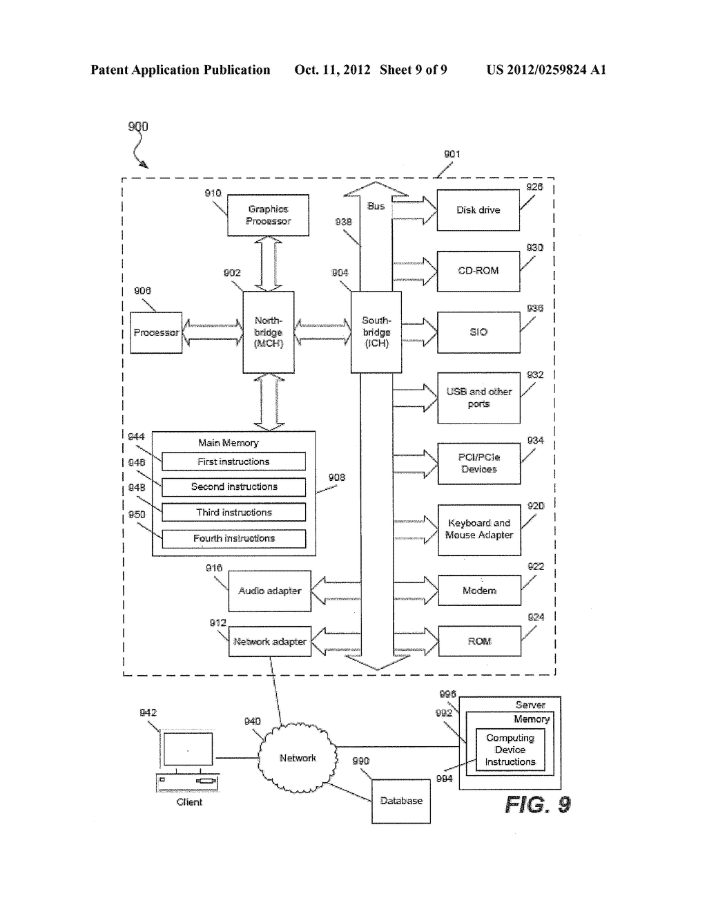 MAINTAINING INDEX DATA IN A DATABASE - diagram, schematic, and image 10