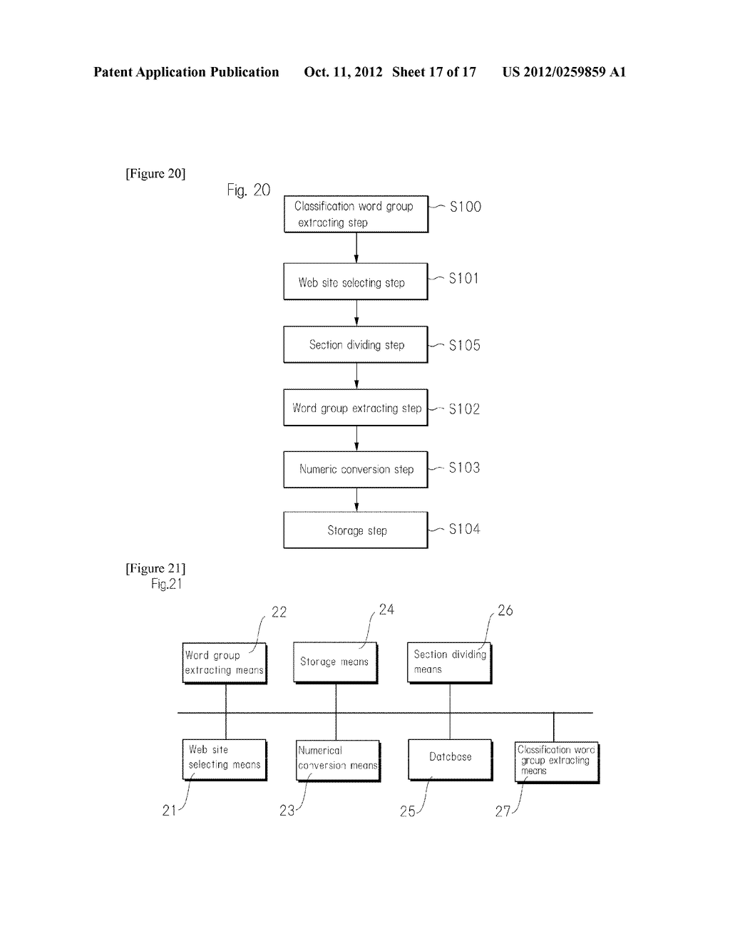 METHOD FOR RECOMMENDING BEST INFORMATION IN REAL TIME BY APPROPRIATELY     OBTAINING GIST OF WEB PAGE AND USER'S PREFERENCE - diagram, schematic, and image 18