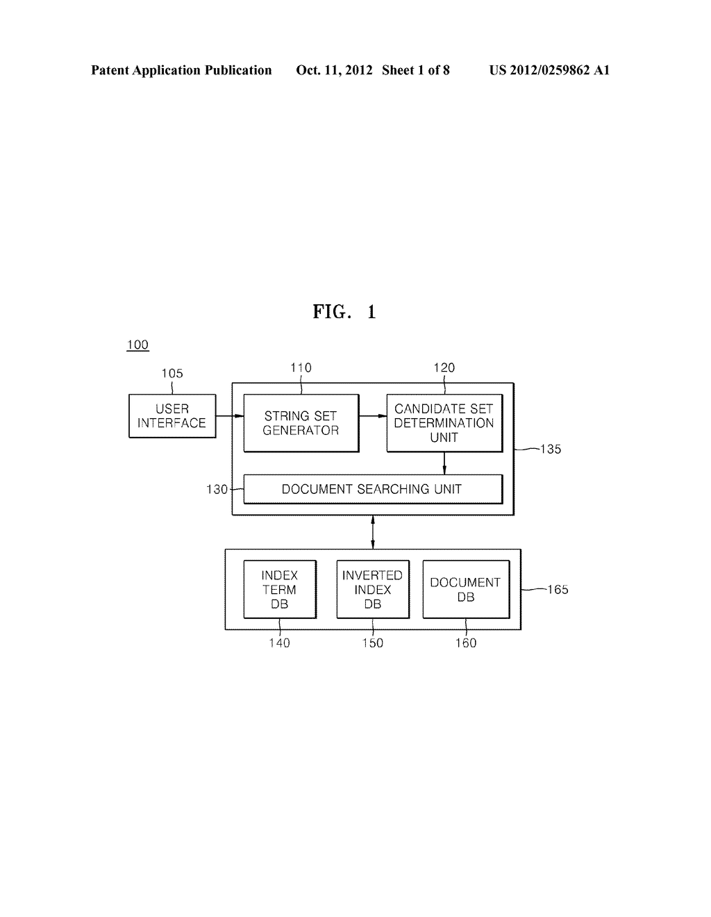 Method and apparatus for processing A query - diagram, schematic, and image 02