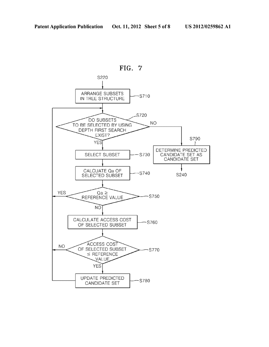 Method and apparatus for processing A query - diagram, schematic, and image 06